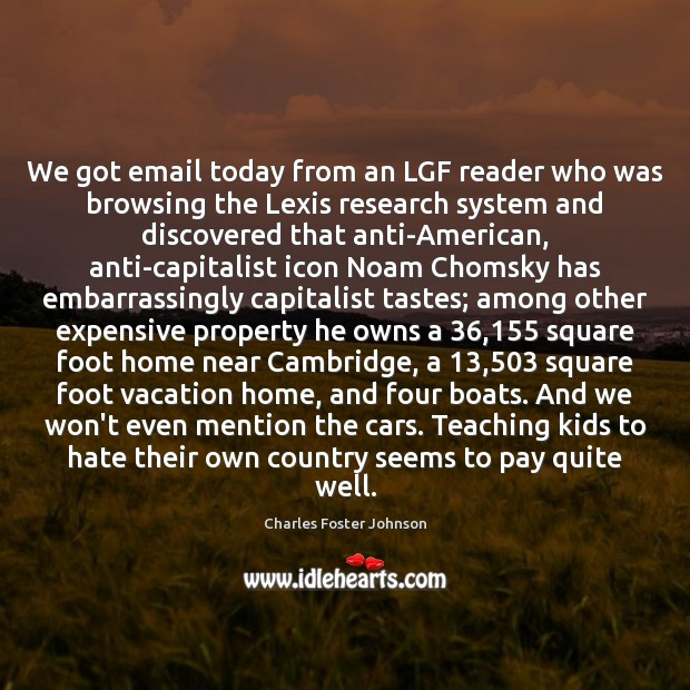 Image, We got email today from an LGF reader who was browsing the