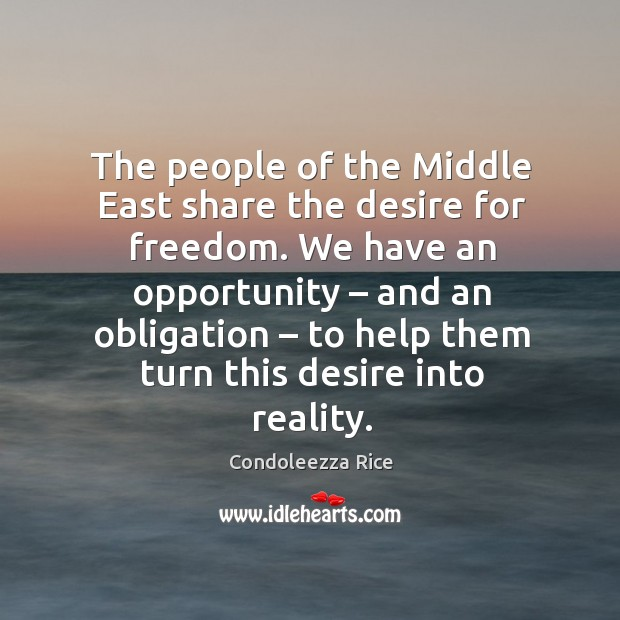 We have an opportunity – and an obligation – to help them turn this desire into reality. Image