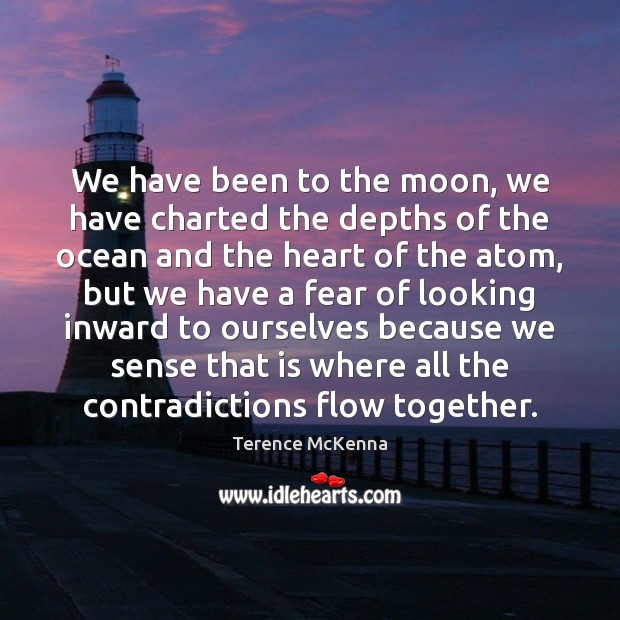 We have been to the moon, we have charted the depths of Image