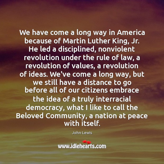 Image, We have come a long way in America because of Martin Luther