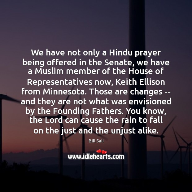 Image, We have not only a Hindu prayer being offered in the Senate,