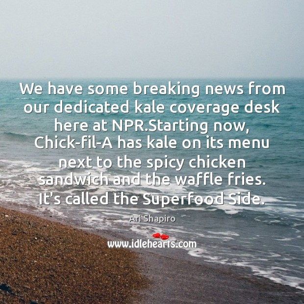 Image, We have some breaking news from our dedicated kale coverage desk here