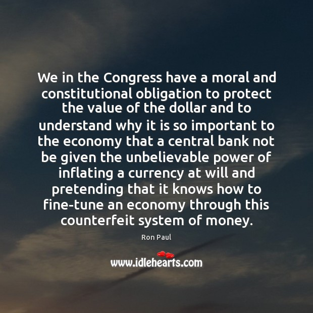 Image, We in the Congress have a moral and constitutional obligation to protect