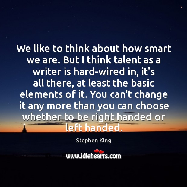 Image about We like to think about how smart we are. But I think