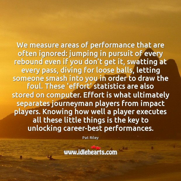 Image, We measure areas of performance that are often ignored: jumping in pursuit