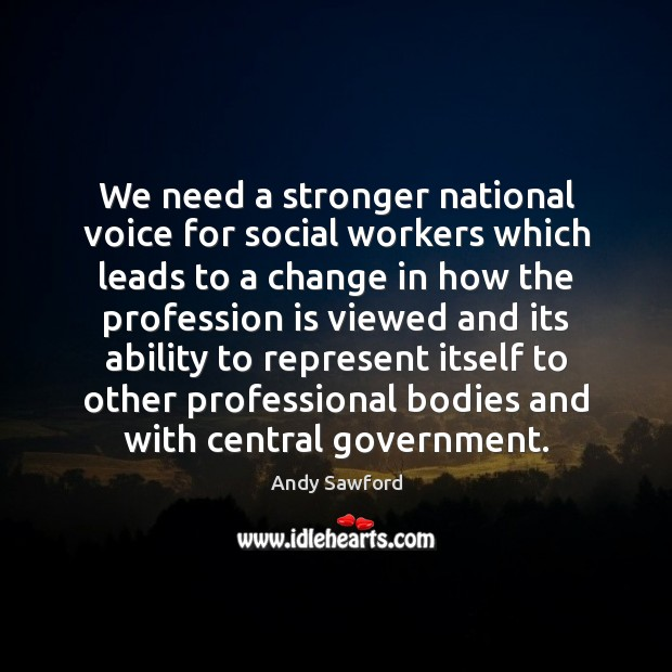 Image, We need a stronger national voice for social workers which leads to