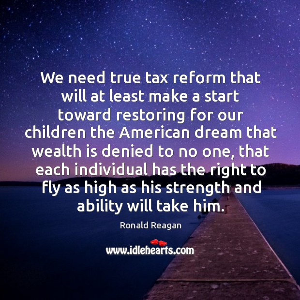 Image, We need true tax reform that will at least make a start