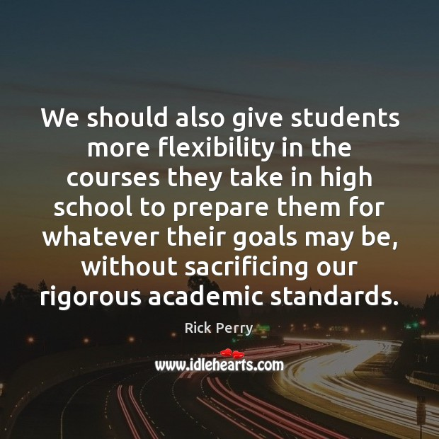 Image, We should also give students more flexibility in the courses they take