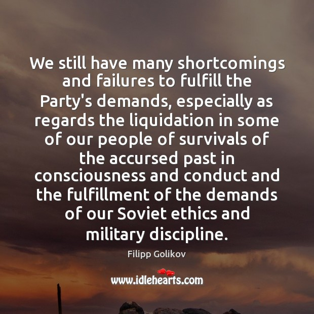 We still have many shortcomings and failures to fulfill the Party's demands, Image