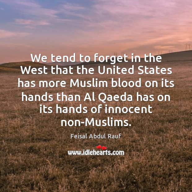 We tend to forget in the West that the United States has Image