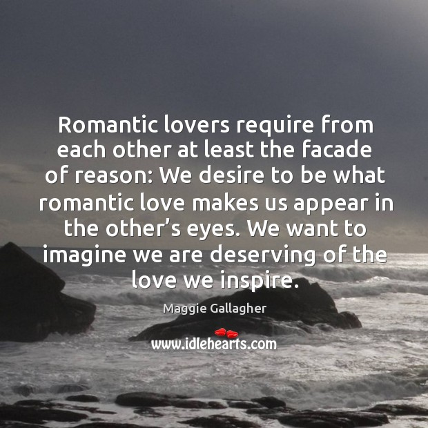 Image, We want to imagine we are deserving of the love we inspire.