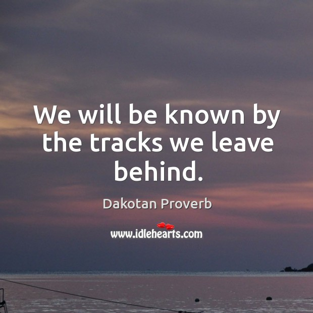 Dakotan Proverbs