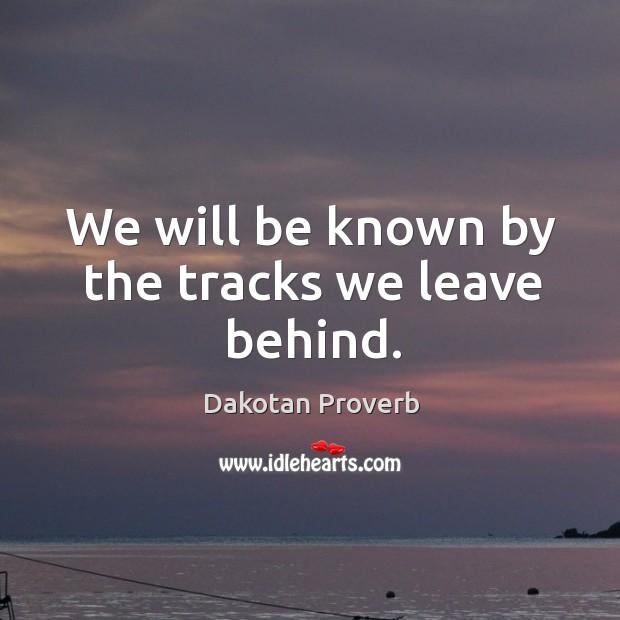 Dakotan Proverbs