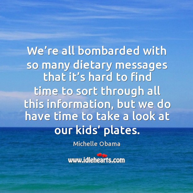 Image, We're all bombarded with so many dietary messages that it's hard to find time to sort through all this information