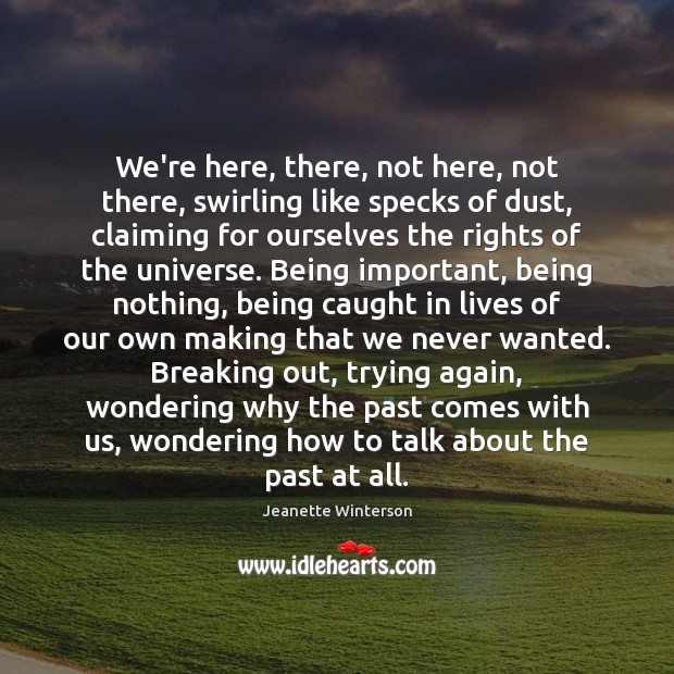 Picture Quote by Jeanette Winterson