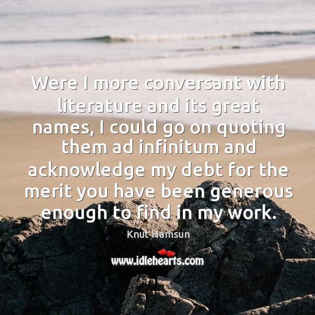 Picture Quote by Knut Hamsun