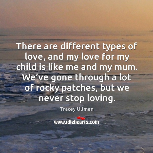 Image, We've gone through a lot of rocky patches, but we never stop loving.