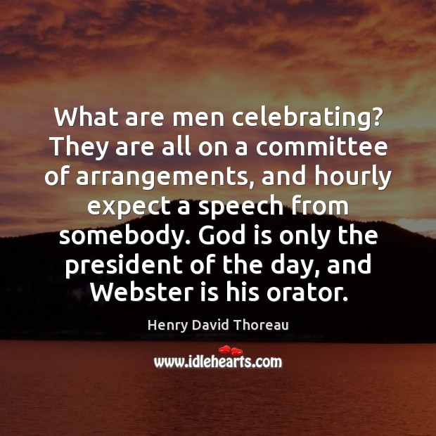 What are men celebrating? They are all on a committee of arrangements, Image