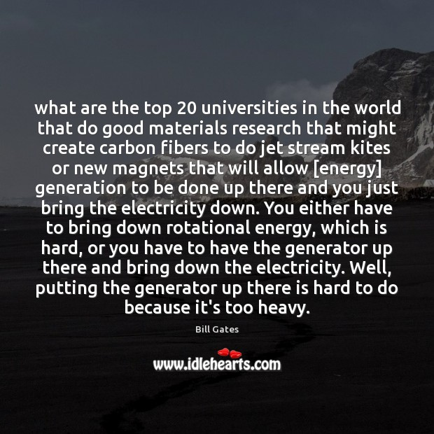 What are the top 20 universities in the world that do good materials Good Quotes Image