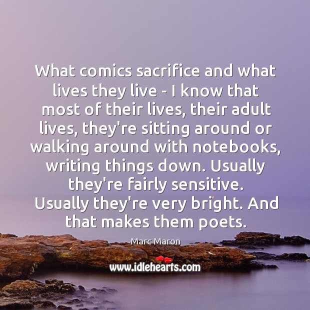What comics sacrifice and what lives they live – I know that Image