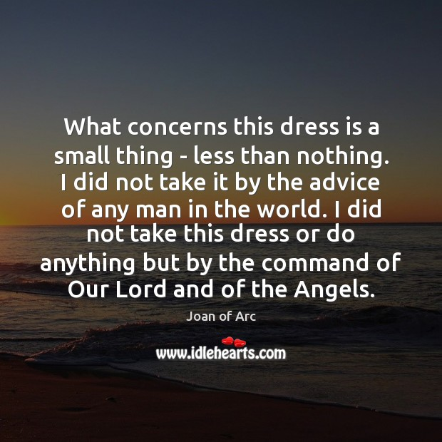 What concerns this dress is a small thing – less than nothing. Image