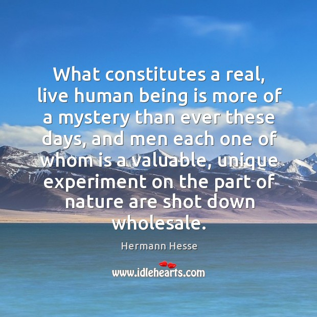 What constitutes a real, live human being is more of a mystery than ever these days Image