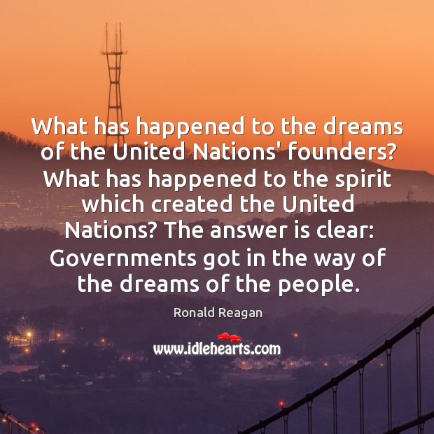 Image, What has happened to the dreams of the United Nations' founders? What
