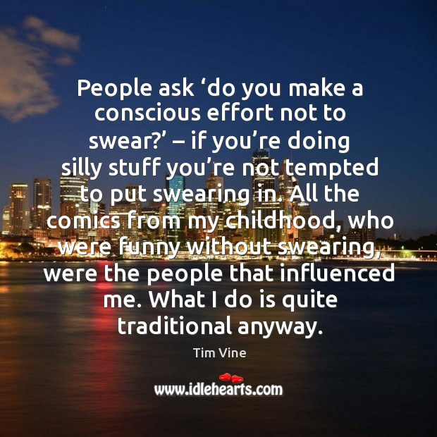 What I do is quite traditional anyway. Image