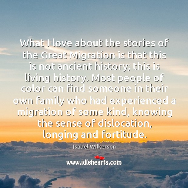 What I love about the stories of the Great Migration is that Image