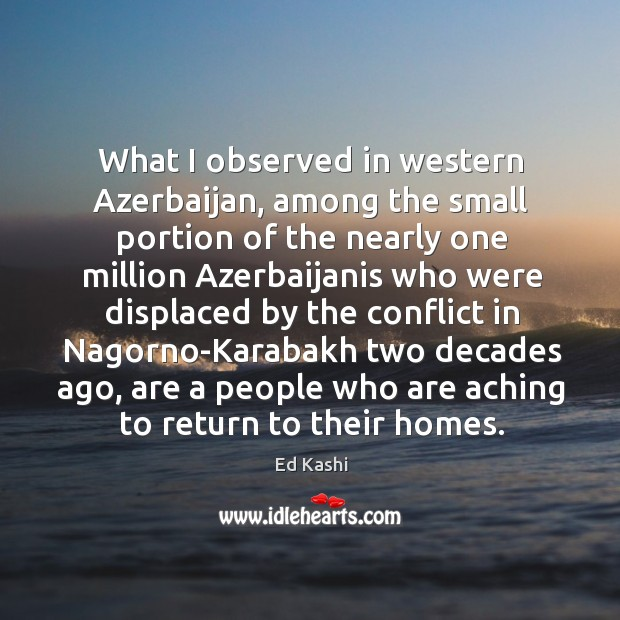 What I observed in western Azerbaijan, among the small portion of the Image