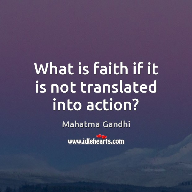 Picture Quote by Mahatma Gandhi
