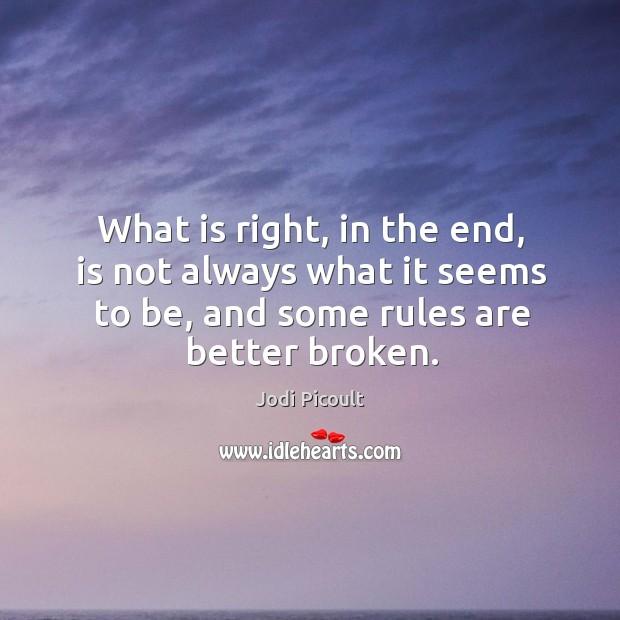 Better Broken Quotes