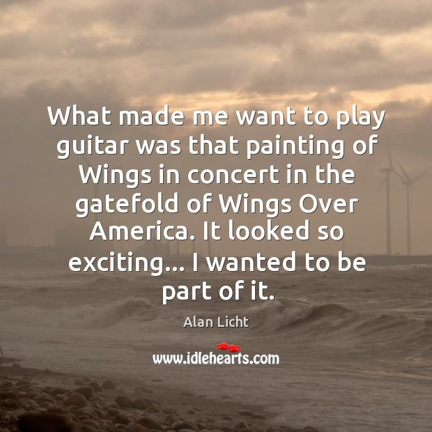 Image, What made me want to play guitar was that painting of Wings
