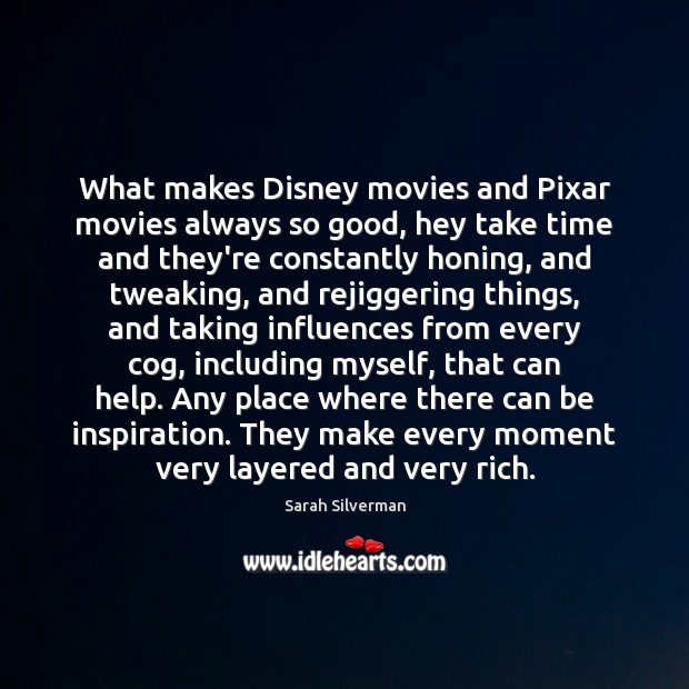 Image, What makes Disney movies and Pixar movies always so good, hey take