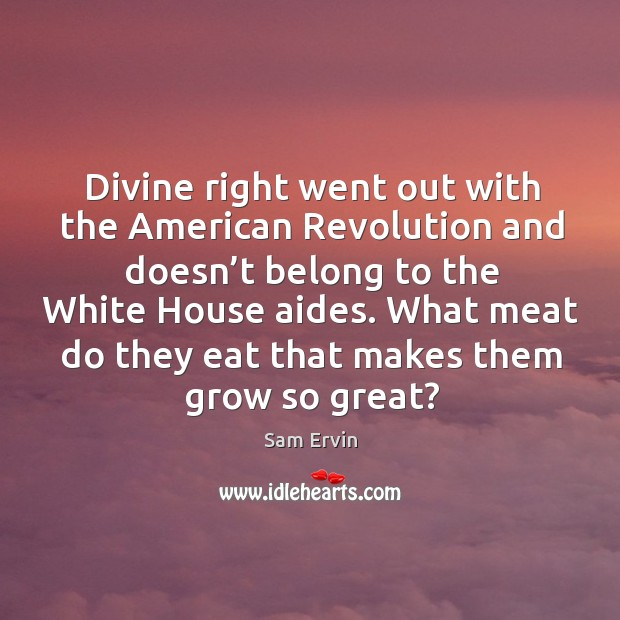 What meat do they eat that makes them grow so great? Image