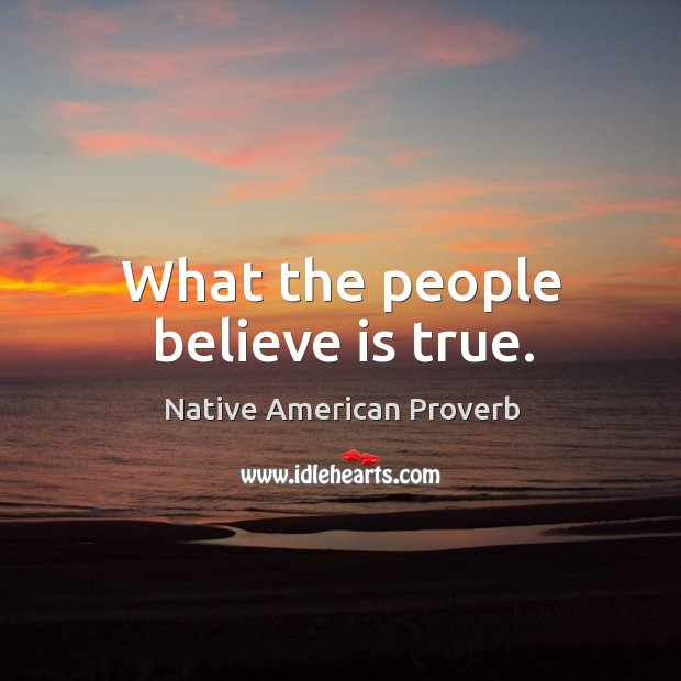 Native American Proverbs