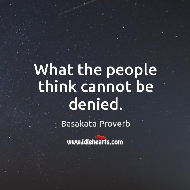 Basakata Proverbs