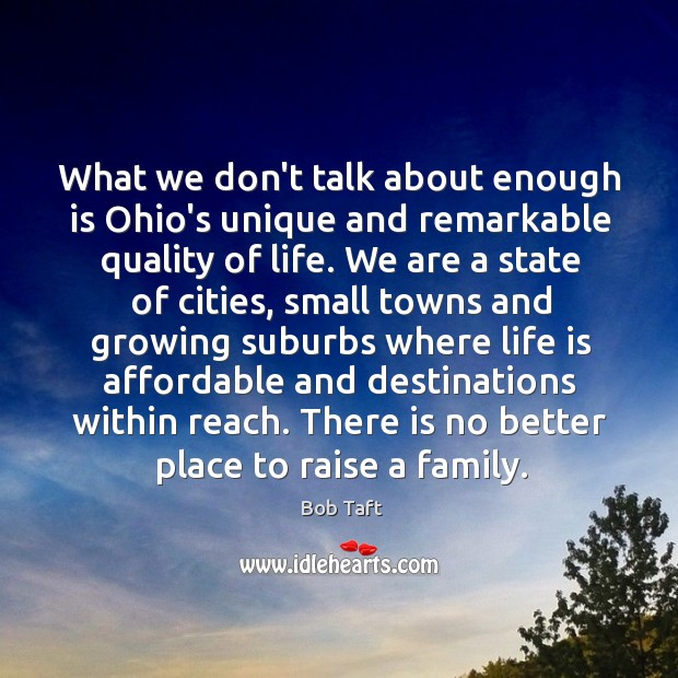 Image, What we don't talk about enough is Ohio's unique and remarkable quality
