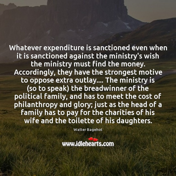 Image, Whatever expenditure is sanctioned even when it is sanctioned against the ministry's