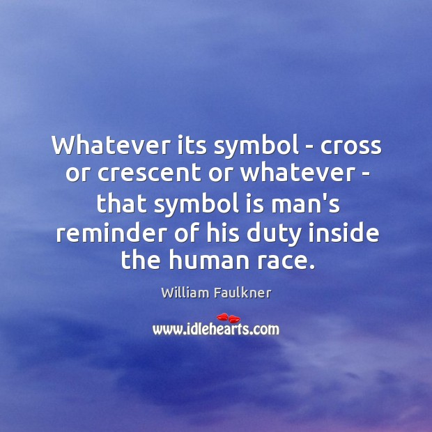 Whatever its symbol – cross or crescent or whatever – that symbol Image