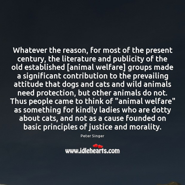 Image, Whatever the reason, for most of the present century, the literature and