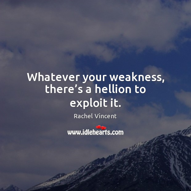 Whatever your weakness, there's a hellion to exploit it. Image