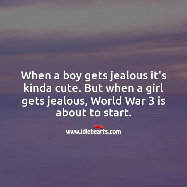 Image, When a boy gets jealous it's kinda cute.