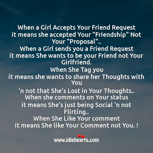 Image, When a girl accepts your friend request