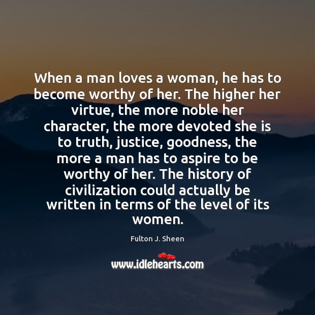 Quotes About When A Man Loves A Woman / Picture Quotes And