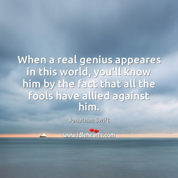When a real genius appeares in this world, you'll know him by Image