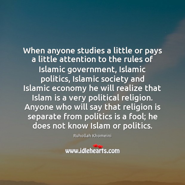 Image, When anyone studies a little or pays a little attention to the