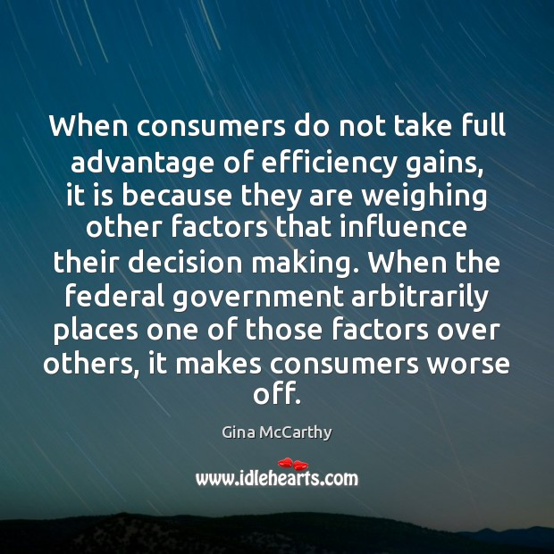When consumers do not take full advantage of efficiency gains, it is Image