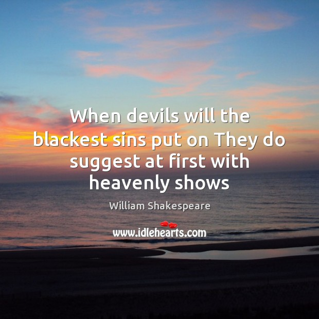 darkest sins and heavenly shows the We identify with our shows they represent us and become part of who we are spiritual growth  my darkest seasons of life have all had one thing in common:.