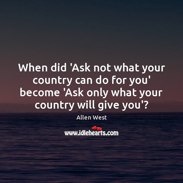 Image, When did 'Ask not what your country can do for you' become
